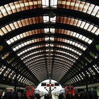Photo taken at Milano Centrale Railway Station by Andrea P. on 5/17/2013