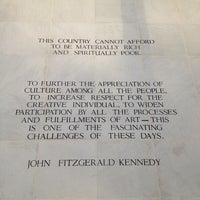 Foto scattata a John F. Kennedy Center Eisenhower Theatre da bernard a. il 11/10/2012