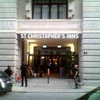 Photo taken at St Christopher's Inn Gare du Nord by JB R. on 8/3/2013