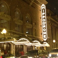 Photo taken at The Hippodrome Theatre at the France-Merrick Performing Arts Center by Fellipe Z. on 2/14/2013