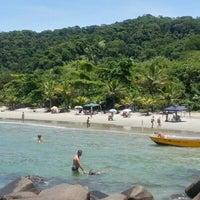 Photo taken at Praia Preta by Carlos M. on 1/7/2013