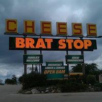 Photo taken at The Brat Stop by Chris B. on 7/23/2013