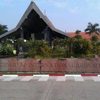 Photo taken at Siem Reap International Airport (REP) by Chris B. on 1/15/2013