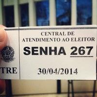 Photo taken at Tribunal Regional Eleitoral do Pará by Eduardo G. on 4/30/2014