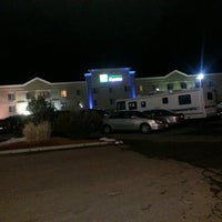 Photo taken at Holiday Inn Express & Suites North Platte by Emma W. on 3/3/2013