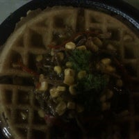 Photo taken at Waffle Factory DIVER PLAZA by Karoll Y. on 11/2/2012