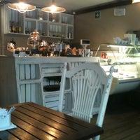 Photo taken at Terracotta Café by Haideé V. on 10/23/2012