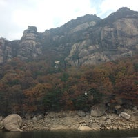 Photo taken at 금수산 by 살찐고양이 미. on 11/7/2014