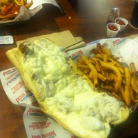 Photo taken at Penn Station East Coast Subs by Jon P. on 3/11/2013