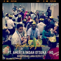 Photo taken at PT. Amerta Indah Otsuka - HO by trijunanto W. on 1/2/2013