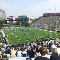 Photo taken at Vanderbilt Stadium - Dudley Field by Jason B. on 9/15/2012