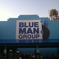 Photo taken at Blue Man Group at Universal CityWalk by C Bass .. on 12/29/2012