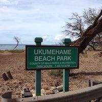 Photo taken at Ukumehame Beach by Rick L. on 11/8/2012