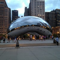 Photo taken at Cloud Gate by Anish Kapoor by P C. on 6/1/2013