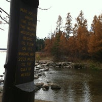 Photo taken at Mississippi River Headwaters Area by Angie B. on 10/22/2012