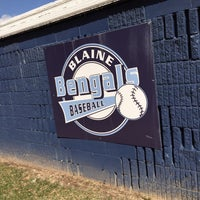 Photo taken at Blaine Baseball Field by Eric S. on 4/13/2015