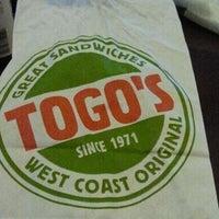 Photo taken at TOGO'S Sandwiches by Stella B. on 11/10/2012