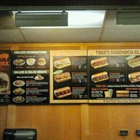 Photo taken at TOGO'S Sandwiches by Stella B. on 8/5/2013