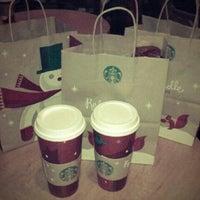 Photo taken at Starbucks by Aline D. on 11/21/2012