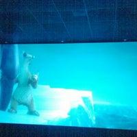 Photo taken at Mi Cine by Aline D. on 10/28/2012