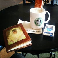 Photo taken at Starbucks Coffee by André M. on 10/14/2012