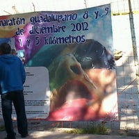 Photo taken at Deportivo Dr.Ponzo Gaona by Ivonne G. on 10/6/2012