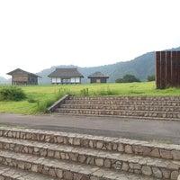 Photo taken at Hirasawa Kanga Ruins by ふみ ふ. on 7/11/2013