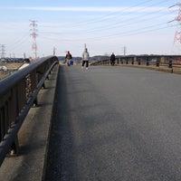 Photo taken at ヒドリ橋 by ふみ ふ. on 1/9/2013