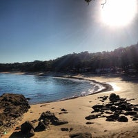 Photo taken at Praia do Curral by Luiz F. on 8/21/2013