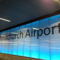 Photo taken at Christchurch International Airport (CHC) by Turi M. on 11/14/2012