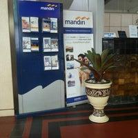Photo taken at Bank Mandiri Cabang Muara by Meivina C. on 1/22/2014