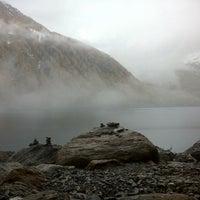 Photo taken at Mountain Lake Hotel Vernagt by Олег З. on 10/23/2013