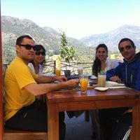 Photo taken at Observatorio Restaurant Pailalén by Ignacio A. on 9/30/2012