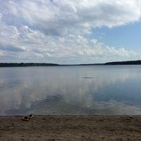Photo taken at Пляж (Другой Берег) by Анатолий Н. on 6/9/2013