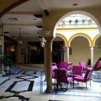 Photo taken at Hotel Tryp Sevilla Macarena by Jorge L. on 10/14/2012