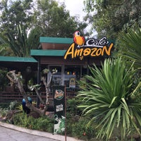 Photo taken at Café Amazon by Mike N. on 11/27/2015