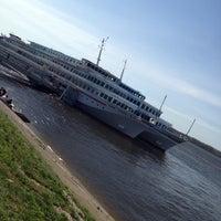 Photo taken at Samara River Terminal by Люся Ж. on 5/3/2013
