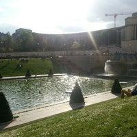 Photo prise au Jardins du Trocadéro par Zakaria L. le5/5/2013