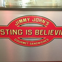 Photo taken at Jimmy John's by Alison K. on 3/5/2013