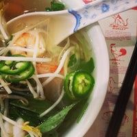 Photo taken at Pho Pasteur by Mary on 4/7/2014