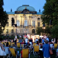 Photo taken at Palaissommer by Micha on 8/27/2016