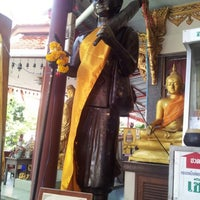 Photo taken at Wat Thep Leela by ally P. on 9/23/2012