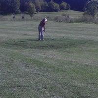 Photo taken at Bluff Creek Golf Course by Melanie G. on 9/19/2012