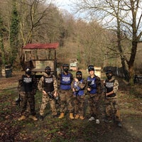 Photo taken at Texas Paintball by Vural Esra Y. on 2/9/2014