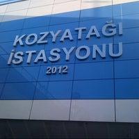 Photo taken at Kozyatağı Metro İstasyonu by Oğuzcan Y. on 3/1/2013