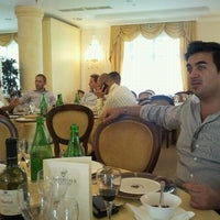 Photo taken at Hotel Federico II Palace Hotel by Filippo M. on 10/11/2012