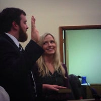 Photo taken at Boone Town Council Chambers by Jocelyn H. on 12/17/2013