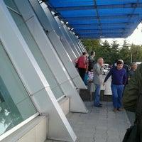 Photo taken at Makhinjauri Railway Station | მახინჯაურის რკინიგზის სადგური by Nutsa N. on 9/26/2012