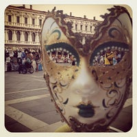 Photo taken at Saint Mark's Square by Clairwil O. on 7/4/2013