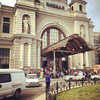 Photo taken at Lviv Railway Station by Anton S. on 5/3/2013